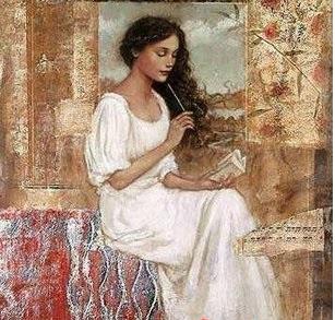 Resultado de imagen para imagen mujer escribiendo