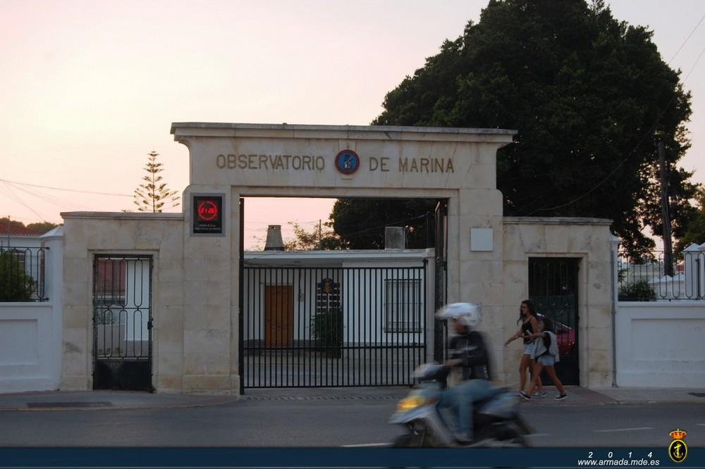 reloj digital observatorio