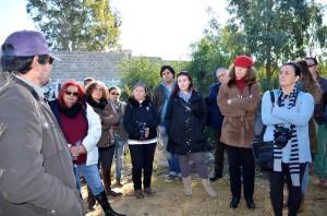 Miguel Ángel López Moreno durante su explicación. Leonor Montañés Bernal
