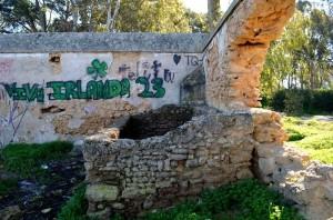 Un ejemplo del deterioro que sufre la construcción. Leonor Montañés Beltrán