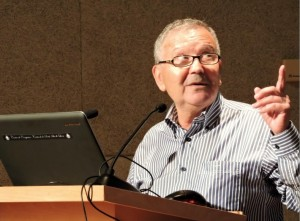 Francisco Sánchez Reyes durante su intervención en el Centro de Congresos.