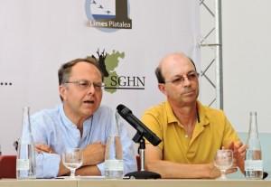 Hortas y Ruiz, coordinadores del proyecto.