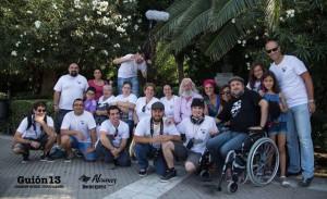 El equipo en Cádiz.