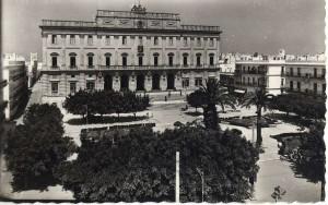La Casa Consistorial, en una fotografía antigua.