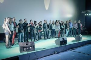 Los artistas sobre el escenario. Ignacio Escuín