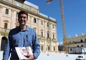 Joaquín Bellido, portavoz de un proyecto en 'construcción'.