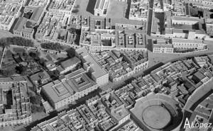 Vista aérea parcial de San Fernando. Archivo A. López.