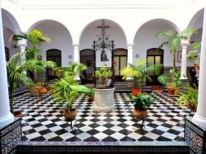 Patio del Colegio de Ntra. Sra. del Carmen (Carmelitas).