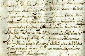 Apéndice 2: Fallecimiento de un esclavo donado como limosna al hospital, donde ejerció como enfermero. AHSCCa, libro nº 26 (1711-1717) de ingresos de enfermos, p. 136v.