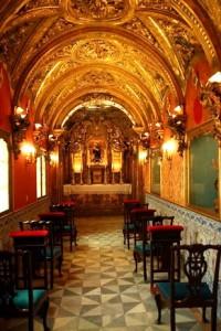 Figura 2: Capilla de los Sacerdotes de la Hdad. de la Sta. Caridad de Cádiz (fotografía del autor).