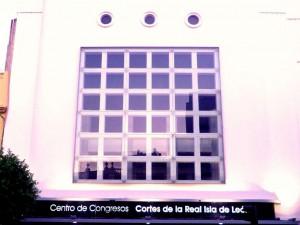 Antiguo Cine Almirante, hoy Centro de Congresos y Exposiciones.