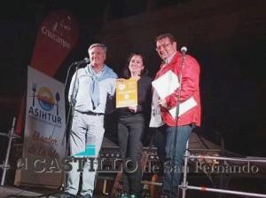 Tercer premio. Puente de Hierro. 'Bastones de lisa frita con salsa capuchina'