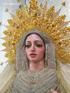 La Santísima Virgen de la Victoria.