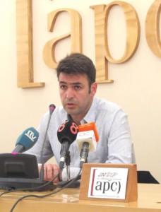 Joaquín Bellido, portavoz de Andalucía Por Sí.