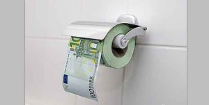 El dinero mal invertido.
