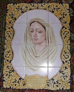 Retablo de la Virgen de la Victoria.