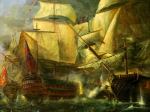 'Trafalgar', la última de las grandes obras del autor del artículo.